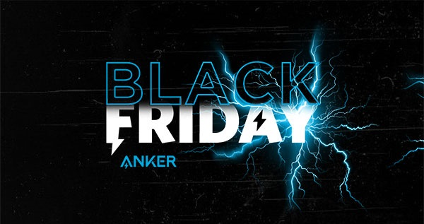 Aproveite a black friday da Anker